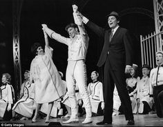 Chita Rivera played Rosie in the original Broadway show. She's pictured with Marty Wilde and Peter Marshall at the end of the Bye Bye Birdie in 1961 Bye Bye Birdie, Jennifer Lopez, Say Hello, Broadway Shows, The Originals, Jenifer Lopes