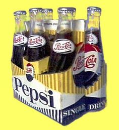 Carton of Pepsi from the 1950's