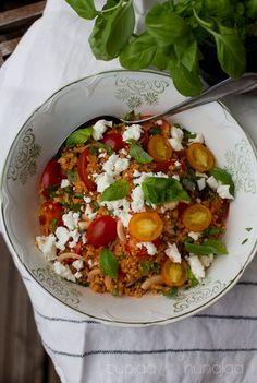 Tomaattisesonki - tomaattibulgur