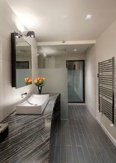 Cubetto on arm - Contemporary Master Bath - Hanson Carlen Architecture + Design