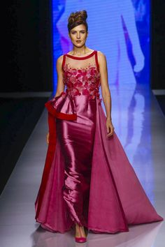 Abed Mahfouz Fashion Show Ready to Wear Collection Spring Summer 2016 in Dubai Evening Attire, Evening Gowns, Fashion News, Fashion Show, Dubai, Abed Mahfouz, Evening Dresses For Weddings, Spring Summer 2016, Formal Gowns