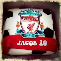 Liverpool FC Cake By yorkshire-rose on CakeCentral.com