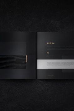 Anqua Portfolio / Brochure Anqua Portfolio is a 30 page Photoshop CC brochure template designed with a unique, minimal and modern layout. This item created for Luxury Brochure, Design Brochure, Brochure Layout, Portfolio Design Layouts, Graphic Design Portfolios, Product Design Portfolio, Brochure Indesign, Template Brochure, Flyer Template