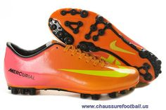 Pas Cher Nike Mercurial Vapor IX AG Orange Mauve Jaune FT1385