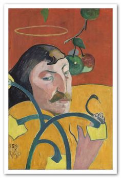 Adesivo decorativo de parede - quadro, arte, Paul Gauguin.