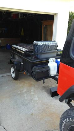 Overland Offroad Trailer Input Wanted Using Lowe s Frame as Base - Second Generation Nissan Xterra Forums 2005 Off Road Utility Trailer, Off Road Trailer, Trailer Diy, Trailer Plans, Trailer Build, Box Trailer, Kayak Trailer, Expedition Trailer, Overland Trailer