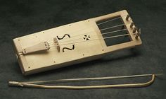 Tagelharpa, an ancient Nordic 4-string instrument