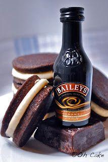 Chocolate Stout & Baileys Buttercream Whoopie Pies