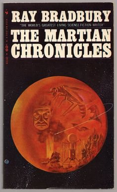 The Martian Chronicles (1967) by Ray Bradbury, age 91 RIP June 6, 2012 ~ image credit: Mars book covers: Science Fiction & Fantasy, via Flickr