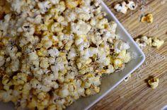 Spicy Truffled Popcorn