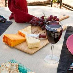Personalized Wine and Cheese set