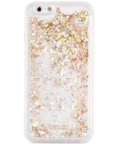 ban.do Glitter Bomb Clear iPhone 6/6s Case    macys.com