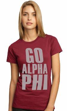 Go Alpha Phi!