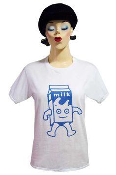 【Blur Milk Boy】ブラー コーヒー&TV ミルクボーイ Tシャツ(S/M)2