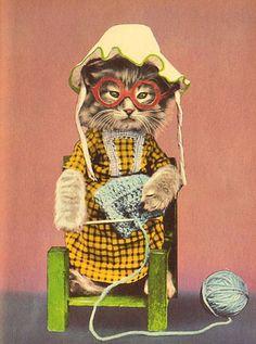 Knitter ~Harry Whittier Frees