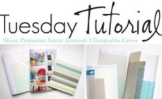 The Creative Place: Tuesday Tutorial: Jotter Journal