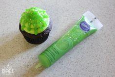 Slimy Cupcakes