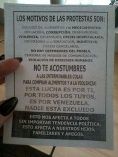 """26 de mar. de 2014 / """"26M Los motivos de la protesta son:"""""""