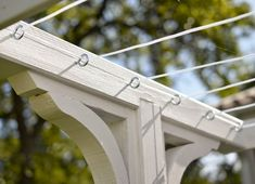 A clothesline isn't considered a structure and can be found within any required yard. This clothesline is a distinctive idea. This clothesline is quit. Outdoor Projects, Garden Projects, Outdoor Clothes Lines, Vibeke Design, Adirondack Furniture, Outdoor Living, Outdoor Decor, Back Patio, Amazing Gardens