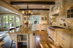 beautiful kitchen with open concept