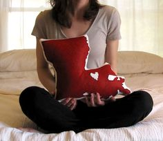 Love this idea- just not the price!!    Customizable Louisiana State Pillow. $68.00, via Etsy.