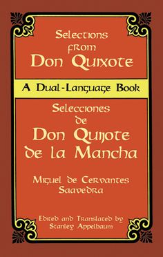 Selections from Don Quixote: A Dual-Language Book -- This is an example of the dual-language books that Dover offers.  Most are old books (the content is in the public domain), and both paper books and ebooks are offered.  In many cases, as with this one, the paper book is $14.95, the ebook is $14.95, but if you buy both together, it is STILL only $14.95... it seems like a good deal!