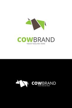 Cow Brand Logo Template #Logo #Brand #Cow #Template Typography Logo, Logo Branding, Logos, Bison Logo, Meat Box, Cow Logo, Chinese Logo, Wild Logo, Beef Cattle