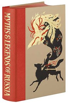Myths and Legends of Russia, I found this illustrator on a Salman Rushdie book and i love his work. This is on my wishlist, but it's so pricey it'll be there for a while