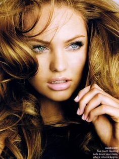 Guess who? Candice Swanepoel #hair