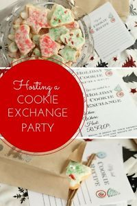 You can host a cookie exchange party this holiday season. What is a cookie exchange party? Invite your friends and tell them to bring dozens of their best Christmas cookie recipe. Then host your party...