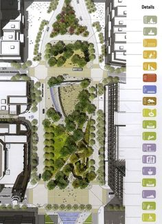 I could see these detail call outs working really well for certain presentations and deliverables! #landscapearchitectureplan