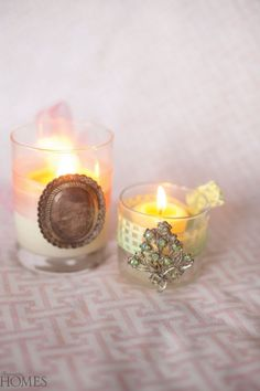 Candles with Cachet #RomanticRoomDecorCandles