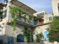 من بيوت مدينة صفد #فلسطين