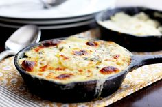 Caramelized Onion and Blue Cheese Potatoes Au Gratin