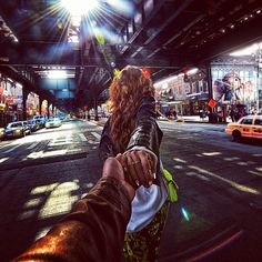 Murad Osmann and Nataly Osmann: Follow me to Brighton Beach