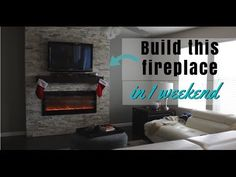 5 Wonderful Diy Ideas: Living Room Remodel Before And After Furniture Placement livingroom remodel kitchen cabinets.Livingroom Remodel Rustic living room remodel on a budget link.Living Room Remodel With Fireplace Bookcases. Mounted Fireplace, Fireplace Tv Wall, Linear Fireplace, Build A Fireplace, Fireplace Bookshelves, Fireplace Built Ins, Shiplap Fireplace, Rustic Fireplaces, Fireplace Screens