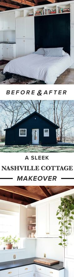 A Nashville Cottage Gets A Sleek Makeover