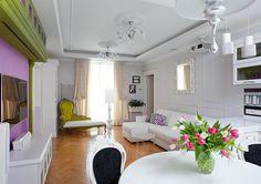 Spauda: Interjero dizaino apartamentai Prancūzijos stiliau...