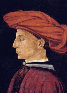 Masaccio - [Renaissance] Portrait of a young man (1426-27)