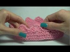 KNIT ALONG - Knitted Crown For A Child - YouTube