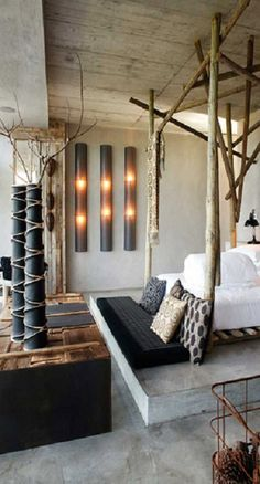 perfect! modern + rustic