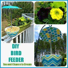 diy bird feeder, crafts, outdoor living, DIY Bird Feeder