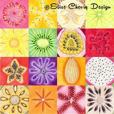 Elise Chevry | Make it in Design | Surface Pattern Design | Summer School | Tropical Paradise