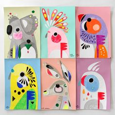 I put these 6 original collages in my online shop today. It's about time I… . - Trisha - I put these 6 original collages in my online shop today. It's about time I… . I put these 6 original collages in my online shop today. It's about time I… - - Arte Elemental, Art Du Collage, Wall Collage, Kids Collage, Shape Collage, Arte Fashion, Emo Fashion, Middle School Art, Art Club
