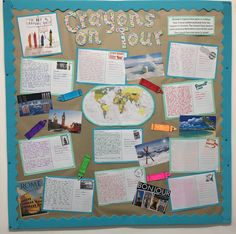 KS2 The Day the Crayons Quit display