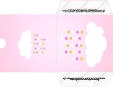Envelope CD DVD Kit Festa Chuva de Benção para Menina