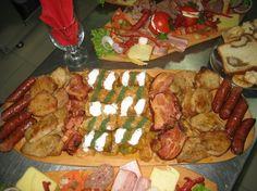 Image result for preparate de revelion Sausage, Meat, Food, Food Food, Meal, Sausages, Eten, Meals