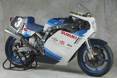 Images of Suzuki Endurance Racing Team bikes from 1980 to This image gallery includes the 1980 the 1985 and the 2001 and other Suzuki World Endurance Championship-winning machines. Suzuki Gsx 750, Suzuki Bikes, Suzuki Motorcycle, Street Motorcycles, Custom Street Bikes, Racing Motorcycles, Racing Team, Road Racing, Gsxr 1100