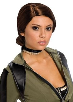 Rubies Costume Sucker Punch Amber Wig Brown One Size ** Learn more by visiting the image link-affiliate link.