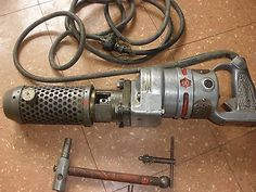 Milwaukee H-856 antique hammer drill , W/ chucks SUPER RARE Works great